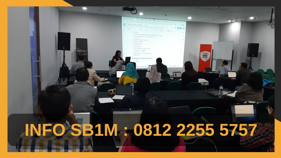Kursus Internet Marketing SB1M